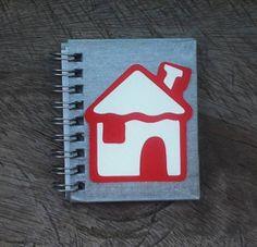 Este bloquinho personalizado é uma ótima sugestão para lembrancinha para  seus convidados do Chá de Casa Nova É um presente fofo e útil!  www.amornopapel.com.br