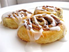 Homemade cinna-minin's.... I love this site. She makes cooking sound like a journey... Get your passport ready.