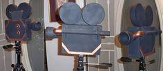 Movie Camera Prop by sethbramwell