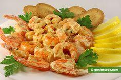 Tiger Shrimps in Creamy Sauce Recipe   Erotic Cuisine   Genius cook - Healthy Nutrition, Tasty Food, Simple Recipes