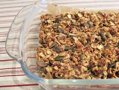 Here's a honey-packed snack bar recipe from Sarah Orecchia of Unbeelievable Health.
