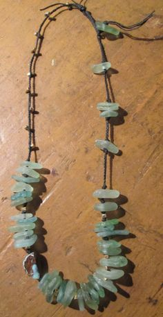 Urban Organic Beach Glass Necklace with by JourneyTalismans, $79.00
