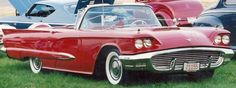 1959 Ford Thunderbird, V8, auto, continental kit