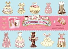 Rosie Flo's Coloring Fashion Show by Roz Streeten. Save 10 Off!. $15.29. Publication: March 21, 2012. Publisher: Chronicle Books (March 21, 2012)