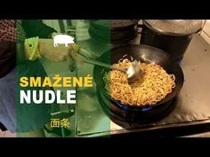 Smažené nudle - YouTube China Food, Good Food, Pasta, Recipes, Youtube, Drink, Kitchens, Chinese Food, Recipies