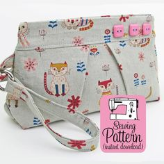 Looking for your next project? You're going to love Pleated Wristlet by designer MichellePattern.