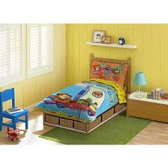 Blue Wall Bedroom For Boys With Wooden Bed Frame On The Blue Carpet On The Wooden Flor Can Add The Elegant Touch Inside Bedroom Design Ideas With Green Table Blue Bedroom Walls, Bedroom Decor, Bedroom Ideas, Bedroom Carpet, Bedroom Themes, Bedroom Storage, Bedroom Designs, Boys Single Bed, Cover Design