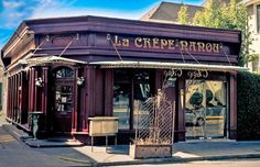 La Crepe Nanou - Prytania Street, New Orleans. One of my favorite restaurants ever.