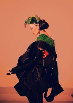 Space Geisha 3 by hakanphotography.deviantART.com