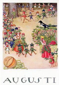 postcard - i mesi dell'anno - k.hjelm förlag - finlandia   Flickr - Photo Sharing!