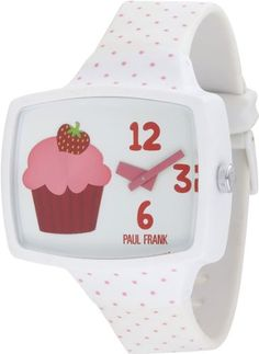 In my house it's always cupcake time - loving this watch from Paul Frank - very rare apparently!