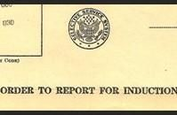 Order to Report for Induction - The Draft and WWII