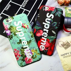 Fashion Luminous Rose Supreme Luxury Matte hard case For iPhone 6 6s 7 plus