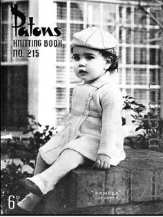 Charming childrens knitting patterns from the 1950s - with 8 different patterns for one low price. This is an INSTANT DOWNLOAD- available immediately after purchase. Designs included: ❤ Pat - jumper with long or short sleeves, rabbit motif, in 2 sizes, 21 to 24 inch chest - in Patons Beehive Fingering 3 ply ❤ Pat - cardigan with V neck, in 2 sizes, 22 to 25 inch chest - in Patons Beehive Fingering 3 ply ❤ Pamela - tailored crossover coat, breechettes and beret with feature pattern, 22 inch…
