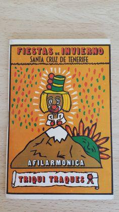 Cancionero Afilarmonica Triqui Traques. Año 1976. Carnaval de Santa Cruz de Tenerife.