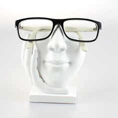 Artsy Face Eyeglass Glasses Holder Display Sculpted Nose Stands Home Decor Gift #JewelryNanny