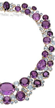 Regilla ⚜ Una Fiorentina in California Purple Love, Purple Lilac, Shades Of Purple, Jewelry Box, Vintage Jewelry, Jewelry Accessories, Unique Jewelry, Jewlery, Purple Jewelry