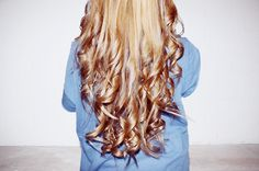 i want blond to brown ombre like this. soon