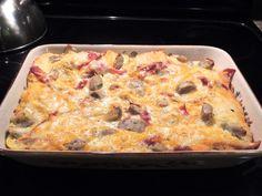 Kathiey's World: Recipe Review…Breakfast Casserole from Celebrate Magazine