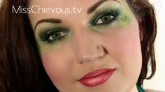 MissChievous.tv: Tinkerbell Makeup or Wicked Witch eyes