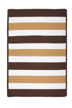 Portico Espresso Indoor/Outdoor Area Rug