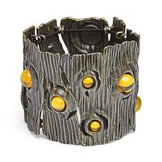 Jewelry | Jewellery | ジュエリー | Bijoux | Gioielli | Joyas | Art | Arte | Création Artistique | Precious Metals | Jewels | Settings | Textures | Groot Spores Bracelet | ThinkGeek