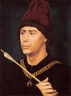 Portrait of Antony of Burgundy, by Rogier van der Weyden, circa 1461