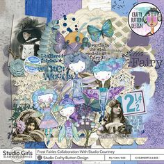 Frost Fairies Collaborative Kit with Studio Courtney