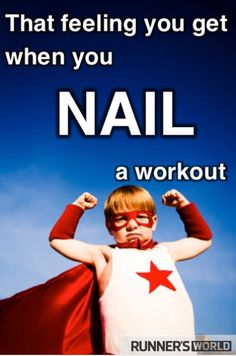 That feeling you get when you nail a workout
