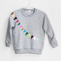 Sweatshirt Garland grey van pomBerlin op Etsy