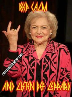 Betty White knows!