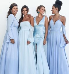Vestidos Azul Serenity, Bridesmaid Dresses, Prom Dresses, Wedding Dresses, Dream Wedding, Wedding Day, Vestidos Plus Size, Quinceanera Dresses, Ball Gowns