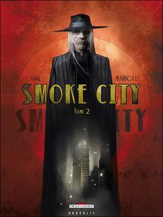 Smoke City - Benjamin Carré et Mathieu Mariolle - Miss Alfie, croqueuse de livres... & Compagnie !