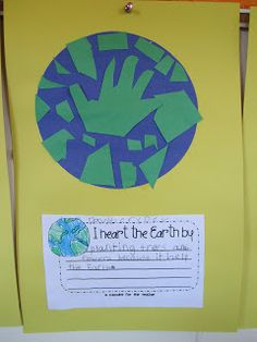 Earth Day writing/Activity