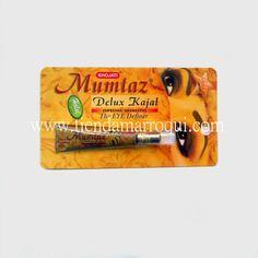 Kohl ojos kajal Mumtaz negro en crema fácil aplicación