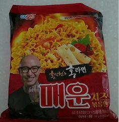 GS25 Hong Seok Cheon's Hot Cheese Mixed Noodle Ramen 130g x 4 pcs  #GS25