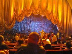 The curtain rises at Radio City Music Hall