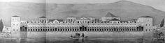 Palazzo di Diocleziano - Spalato - Facciata sul mare