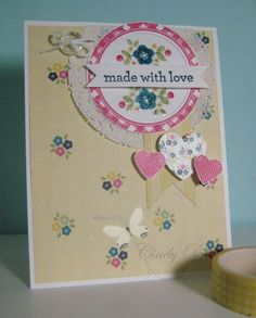 Fab Friday 23 - Kind & Cozy Stampin' Up! set Cindy Beach  stampspaperandink.typepad.com