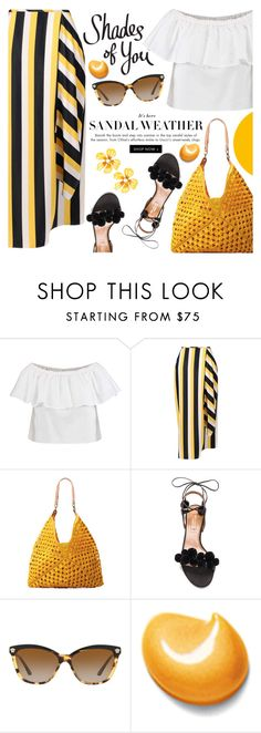 """""""Shades of You: Sunglass Hut Contest Entry"""" by martinabb ❤ liked on Polyvore featuring Topshop, STELLA McCARTNEY, Mar y Sol, Aquazzura, Versace, Elizabeth Arden, Betsey Johnson, summerstyle, summerfashion and summersandals"""