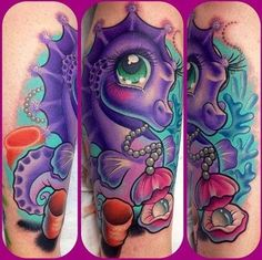 If I was ever to get a My Little Pony tattoo, this would be it!