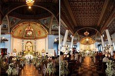 Interiors of Dauis Church in Panglao