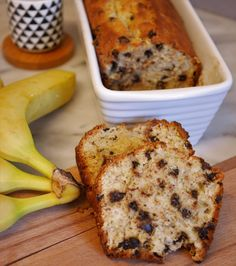 You are starting to know my passion for banana bread… As well as that of the gourmet man who loves to taste them for breakfast! So today I offer you a healthy banana bread recipe in gluten-free or gluten-free version with chocolate chips to come … Healthy Banana Bread, Banana Bread Recipes, Brunch, Keto Crockpot Recipes, Comfort Food, Healthy Chocolate, Chocolate Chips, Chocolate Ganache, Food And Drink
