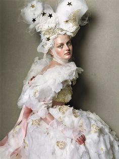 Steven Meisel for Vogue Italia (Couture Supplement), March 2005