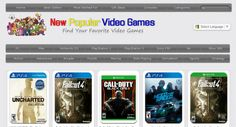 Google PR1 Huge 16,100 Video Games portal http://www.NewPopularVideoGames.com . 100% Automated Amazon Income.