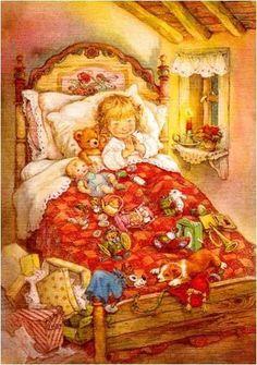 inbed.quenalbertini: Bedtime prayer by Lisi Martin