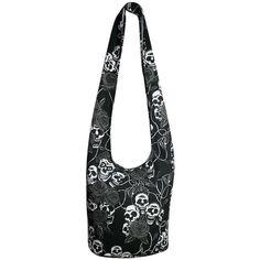 Hippie Hobo Boho Skull Rose Crossbody Bohemian Handbags Messenger Bags Purses (6.005 HUF) found on Polyvore featuring women's fashion, bags, boho messenger bag, skull crossbody bag, bohemian crossbody bags, hippie crossbody bags and courier bag