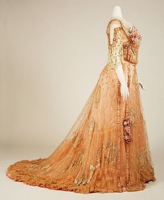 1900 Ball Gowns | Ball Gown Circa From 1900-1903.