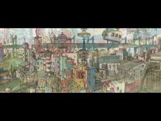 Tekkon Kinkreet Director: Michael Arias (as Maikeru Ariasu) Writers: Taiyo Matsumoto (comic), Anthony Weintraub Movie Intro, Title Sequence, Moving Pictures, Films, Movies, Motion Graphics, Short Film, Painters, Illustrators