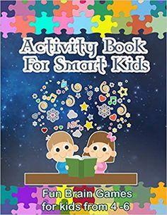 Activity Book For Smart Kids  This fun and engaging activity book is packed with different puzzles and games to keep avid your kids entertained for hours  This book contains Complete word searches number puzzles connect-the-dots and matching games. Then journey your way through tons of fun twist & turn mazes! as well as plenty of coloring pages Free Stories For Kids, Free Kids Books, Free Books To Read, Good Books, Online Reading For Kids, Kids Reading Books, Read Novels Online, Free Ebooks Online, Free Facebook Likes